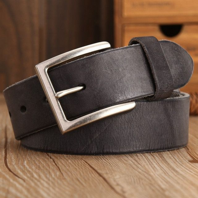 100% High Quality Genuine Leather Designer Men's Belt (5 Colors Available)