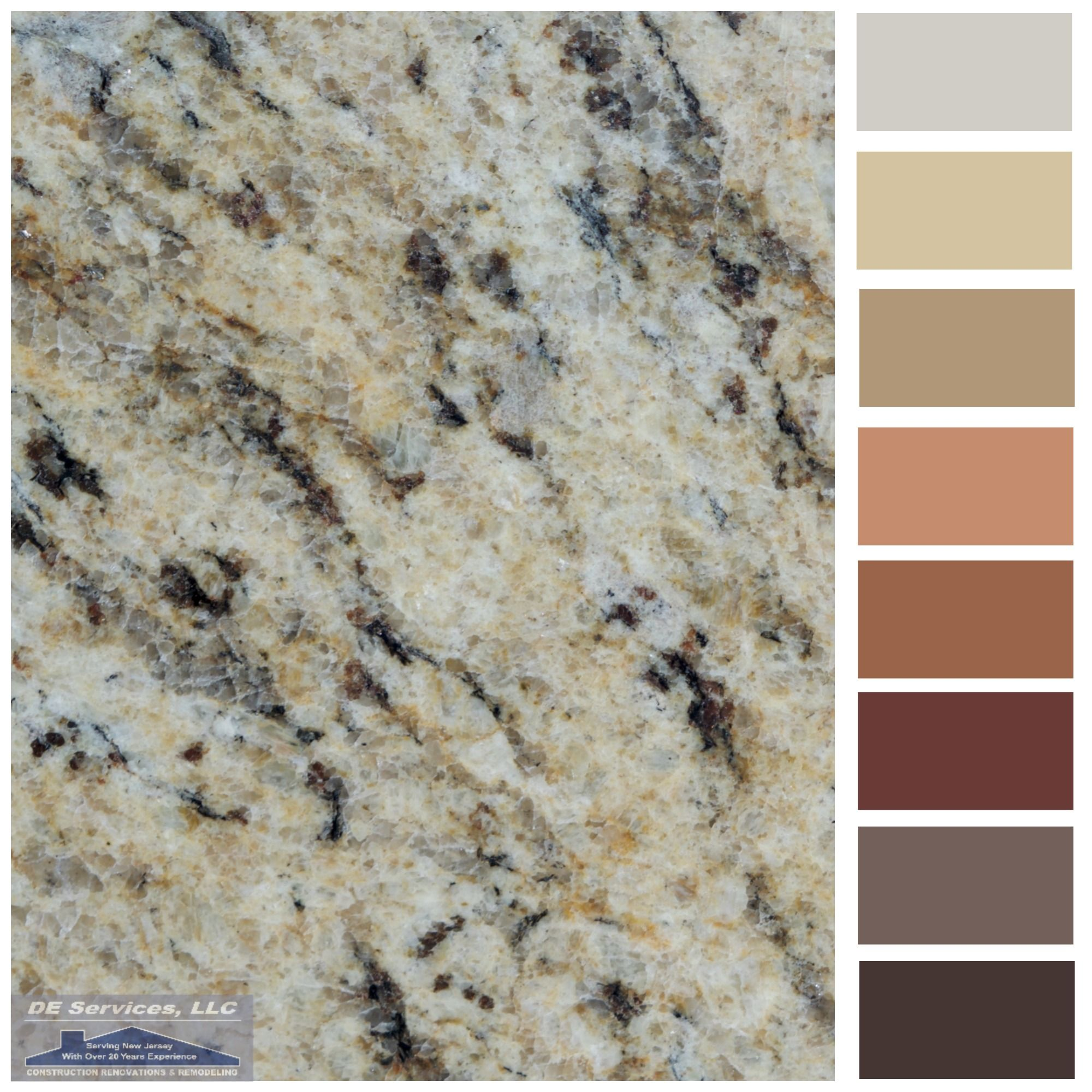 Giallo ornamental granite pinteres for Kitchen granite countertops colors