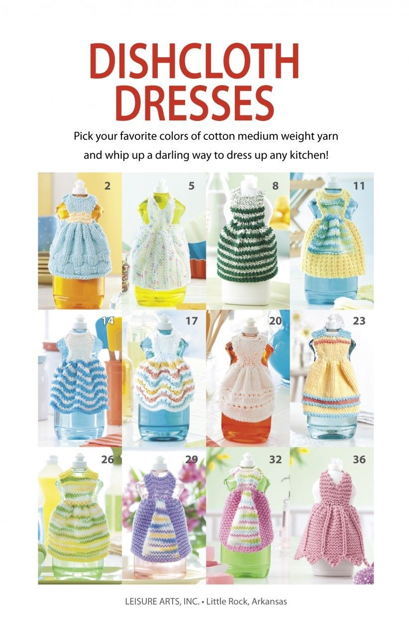 Dishcloth Dresses | Pinterest | Pilares