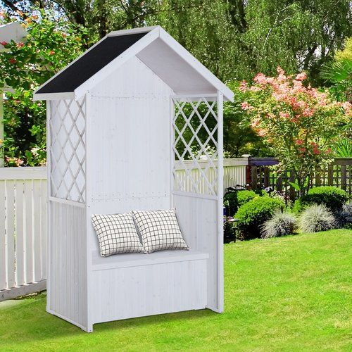 Superb Kampen Living Bertie Wooden Arbour In 2019 Products Pdpeps Interior Chair Design Pdpepsorg