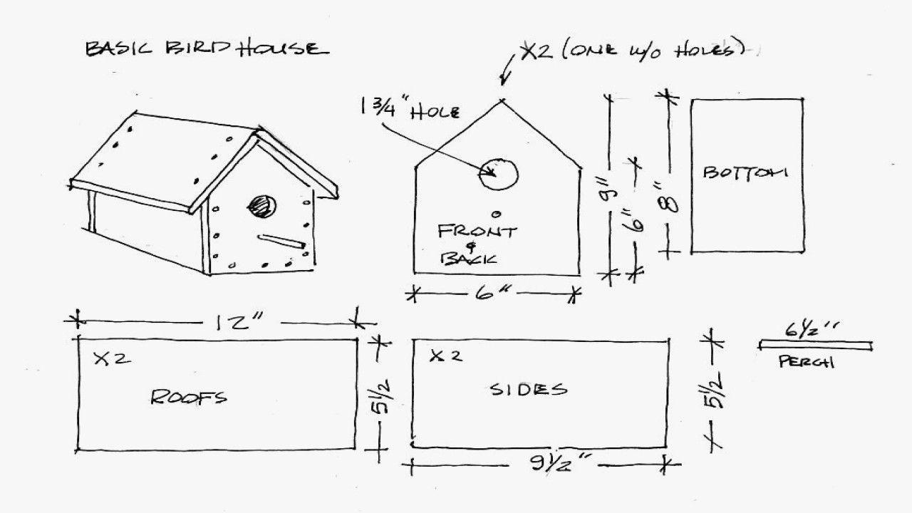 Robin Bird Houses Plans Free Elegant Robin Bird House