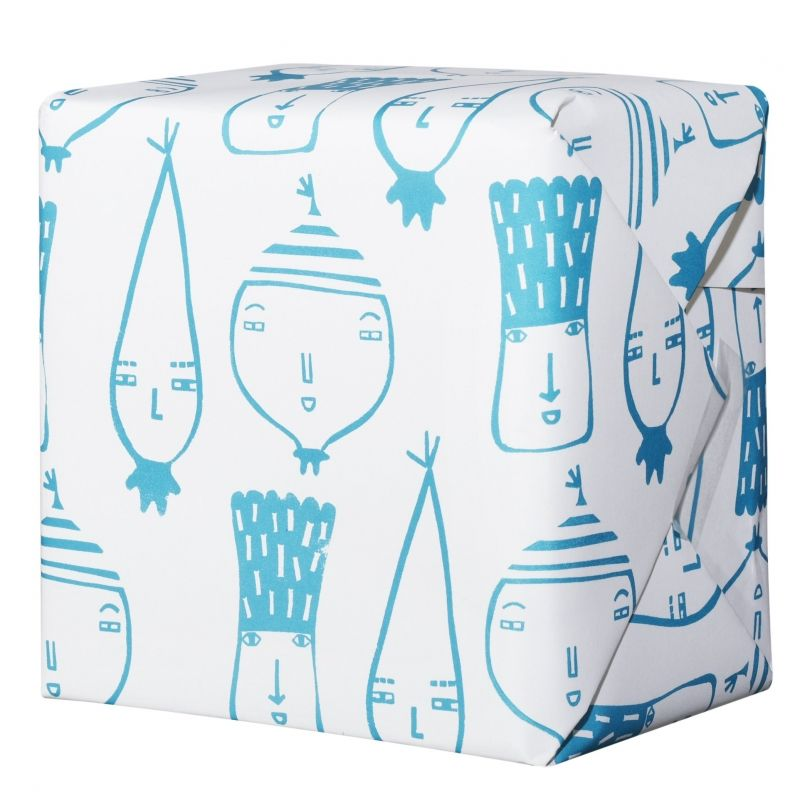 Donna Wilson Wrapping Paper - Vegetables