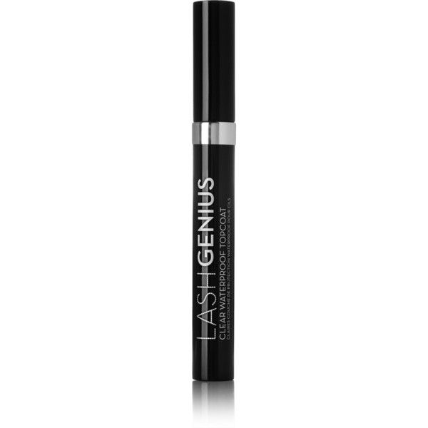 Anastasia Beverly Hills Lash Genius Clear Waterproof Topcoat (28 CAD) ❤ liked on Polyvore featuring beauty products, makeup, eye makeup, mascara, beauty, eyes, colorless, paraben free mascara, waterproof eye makeup and waterproof mascara