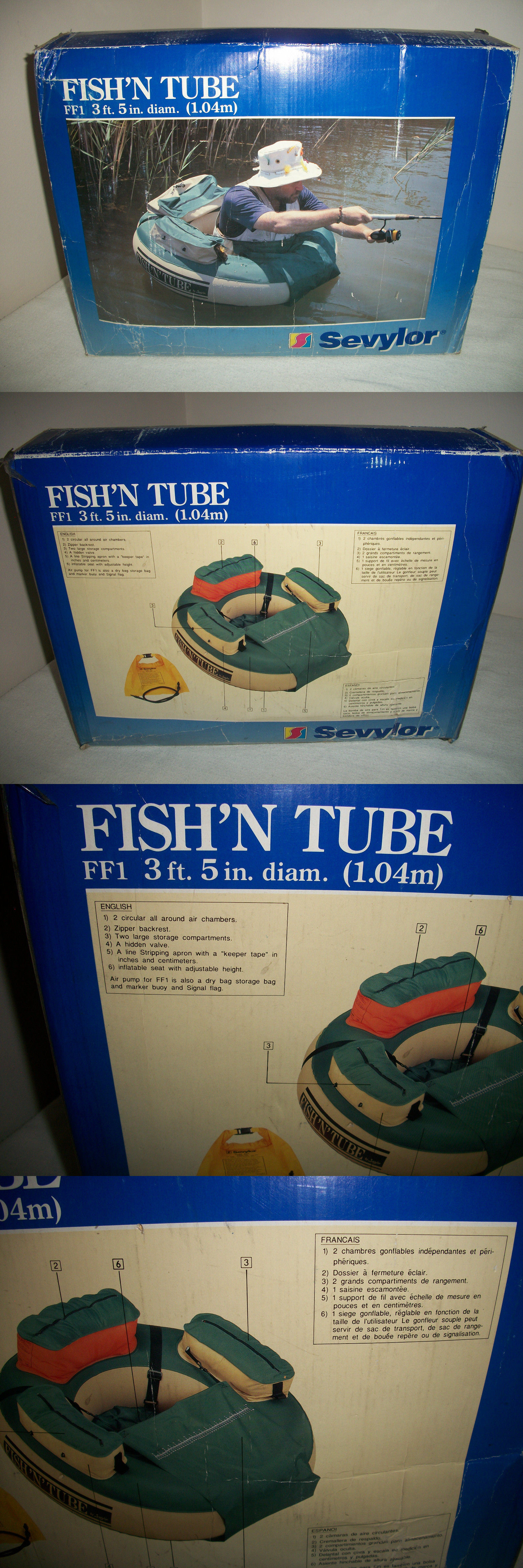 Bighorn Extra Large Inflatable Fly Fishing Float Tube