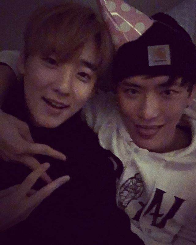 With Kevin~ !! 이웃으로 돌아와~ㅋㅋ #ukiss #kevin