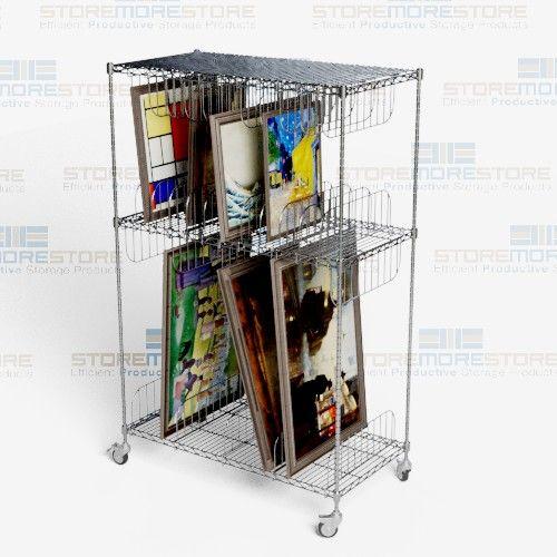 Framed Artwork Storage Carts On Wheels Museums Pinterest