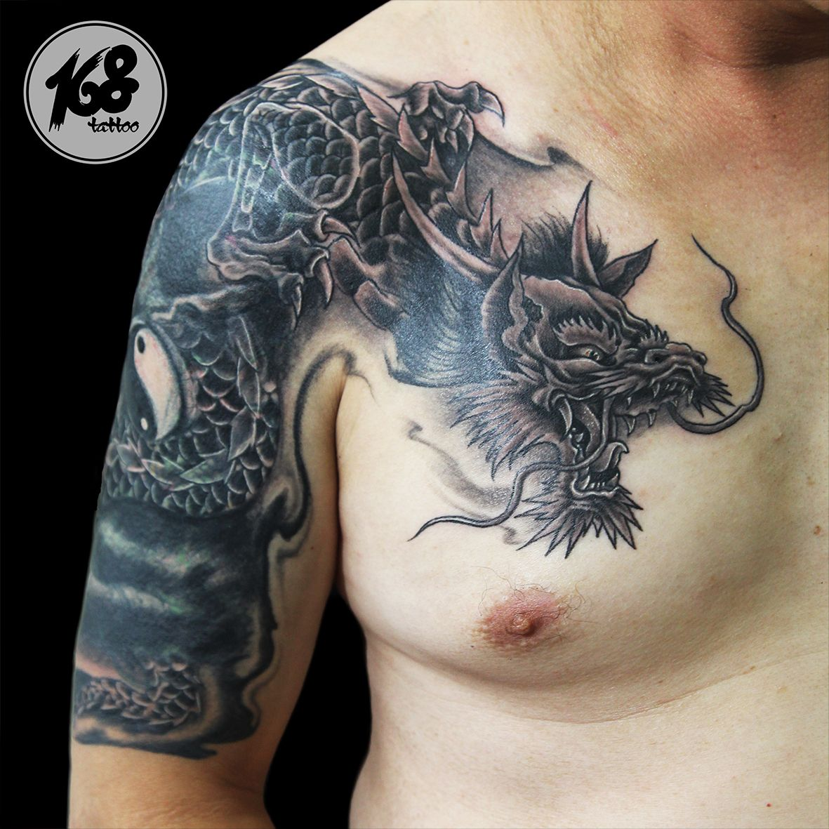 black dragon tattoo cover up my tattoo artwork