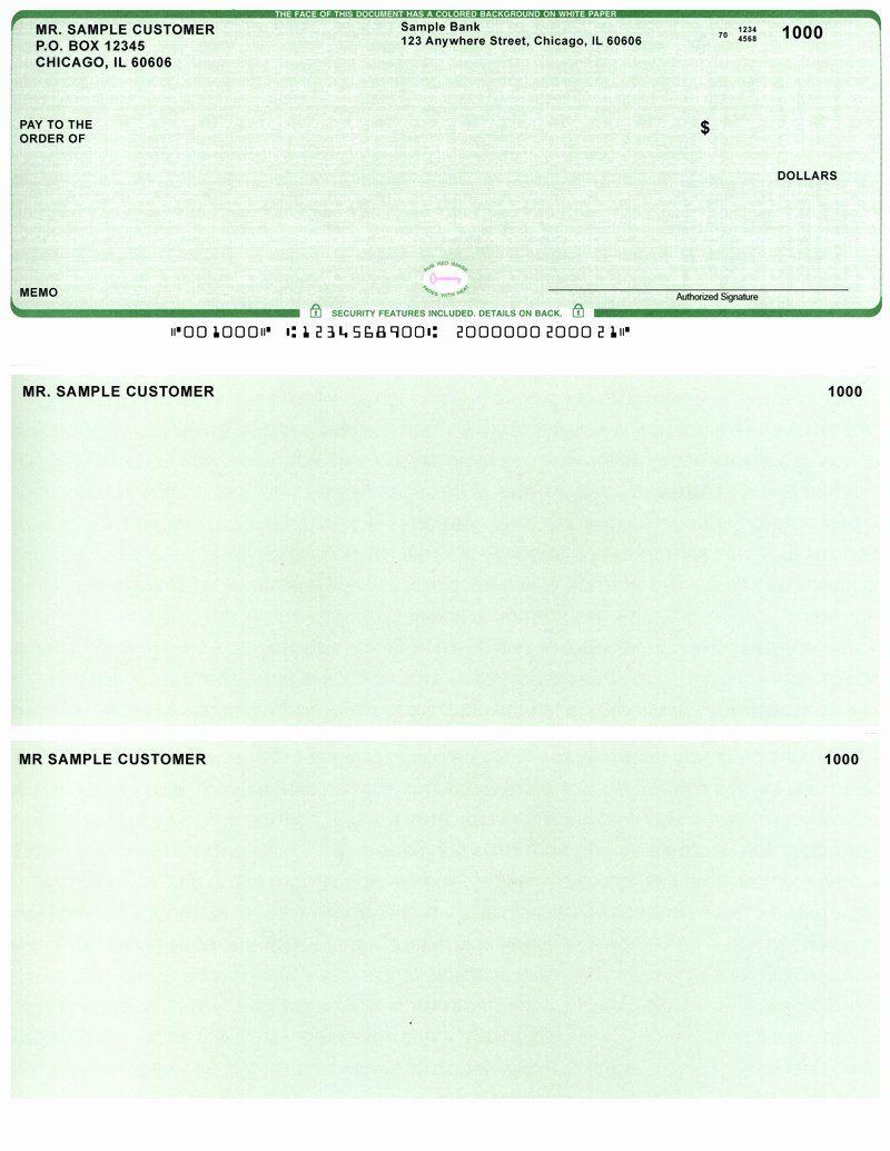 Quickbooks Deposit Slips Template Lovely Quickbooks Payroll Business Checks For Quickbooks Payr Business Checks Rental Agreement Templates Letter Template Word