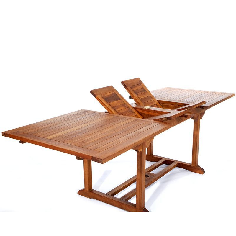 All Things Cedar Butterfly Extension Table Teak Dining Table Dining Table Teak Table