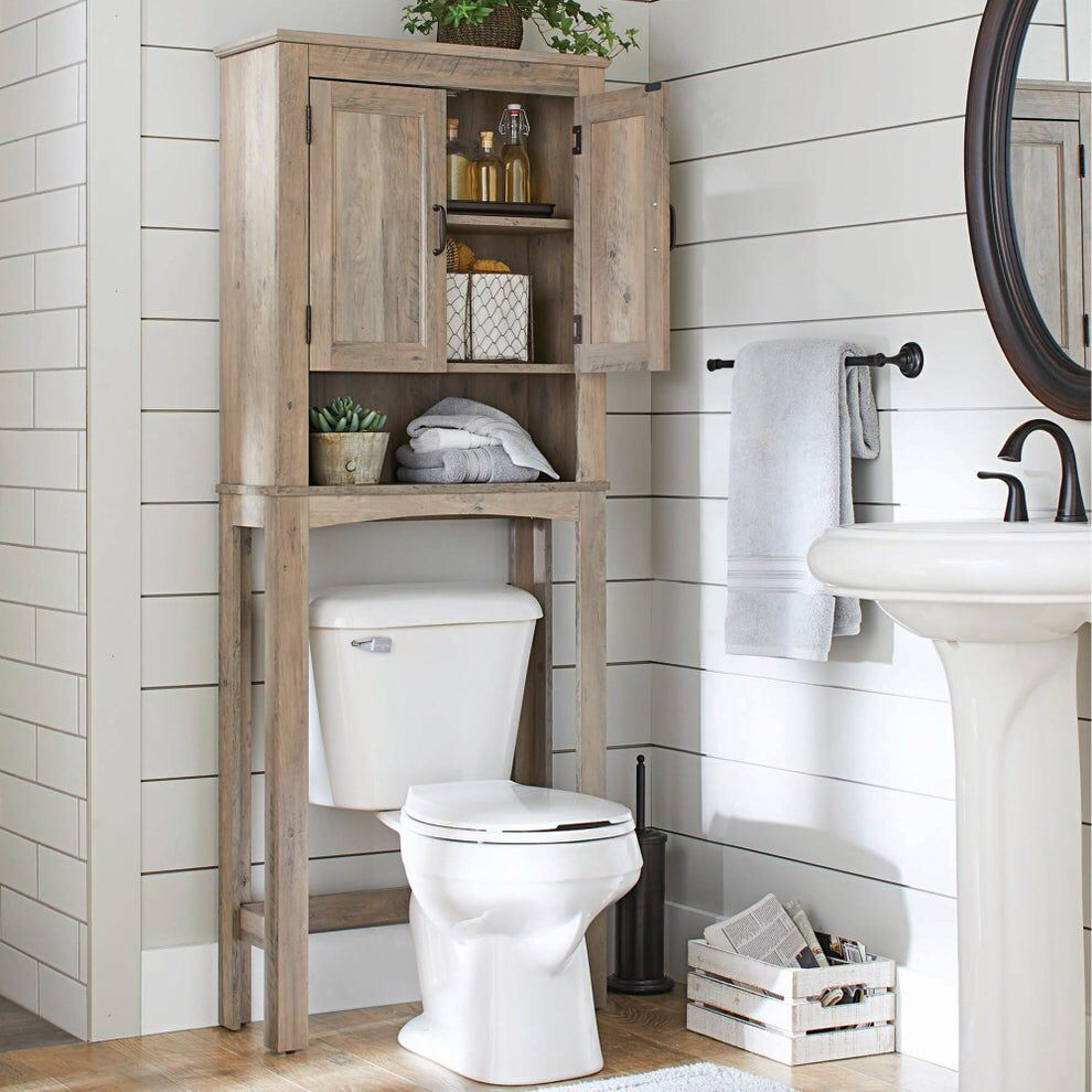 31 Things From Walmart That Ll Help Upgrade Your Bathroom En 2020 Petit Meuble Rangement Salle De Bain Design Meuble Wc Suspendu