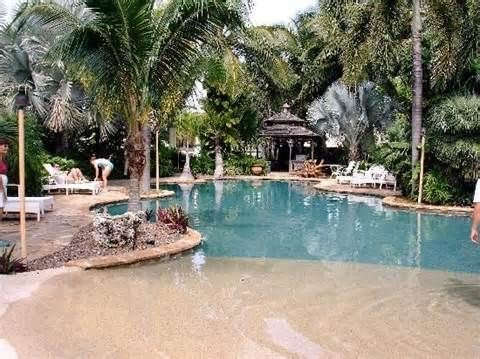 large shallow area | Swimming Pool Designs in 2019 | Walk in ...