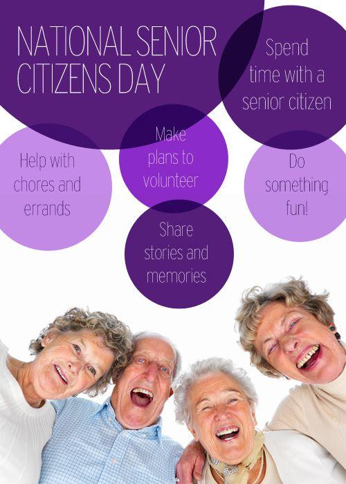 Make everyday National Senior Citizens Day Family