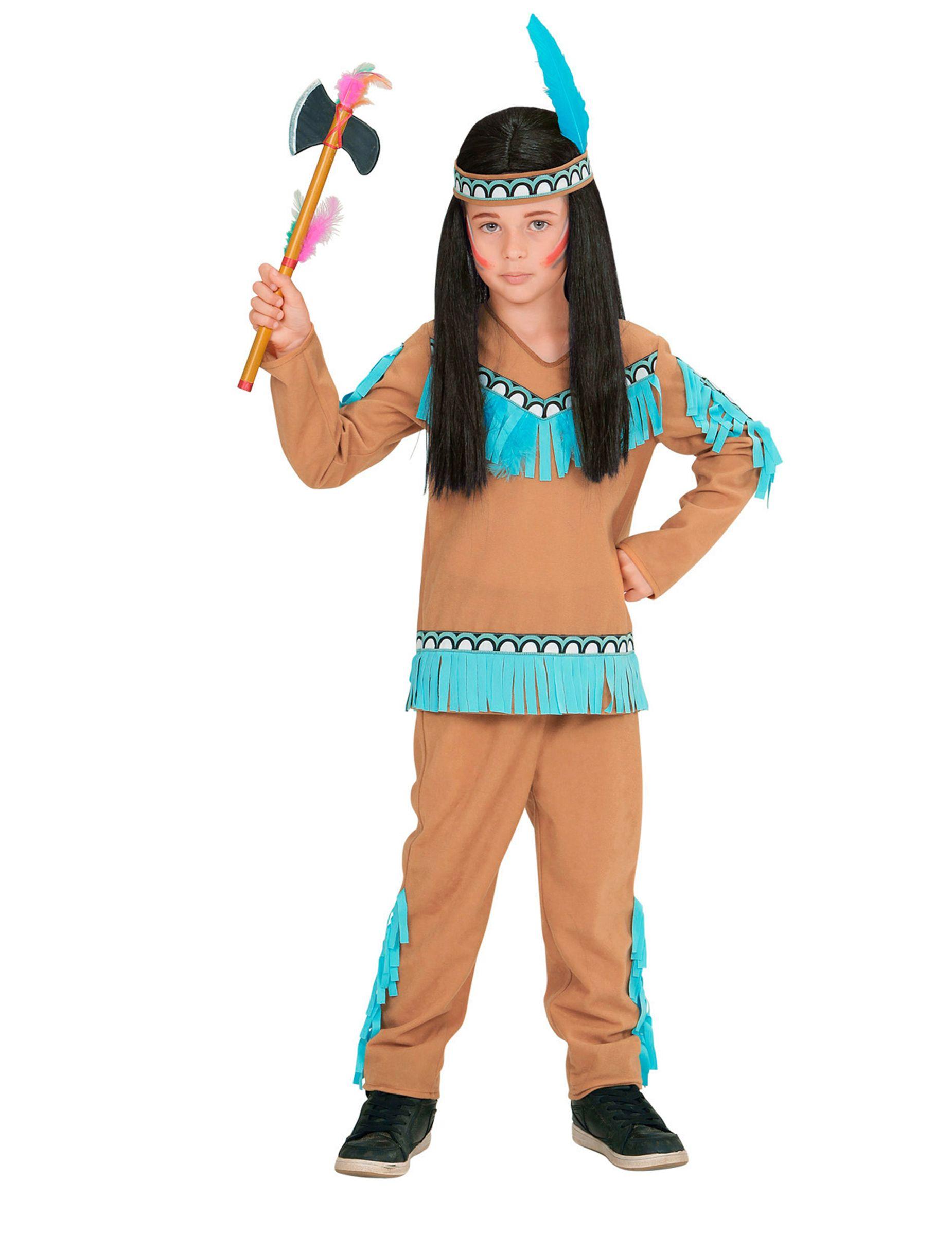 Camicia INDIANI INDIANI Costume Bambini Carnevale