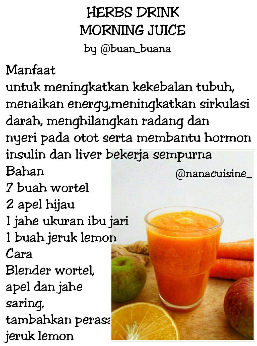 Pin Oleh Anasuryawati Di Resep Jsr Obat Alami Diet Detoks Minuman Sehat