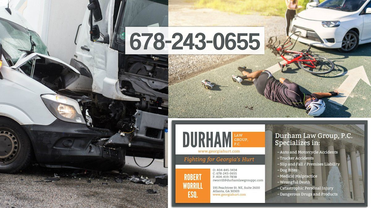 Abogado Accidente Auto Atlanta Durham Law Group Pc Atlanta Latinos Magazine Atlanta Durham Firmas Personales