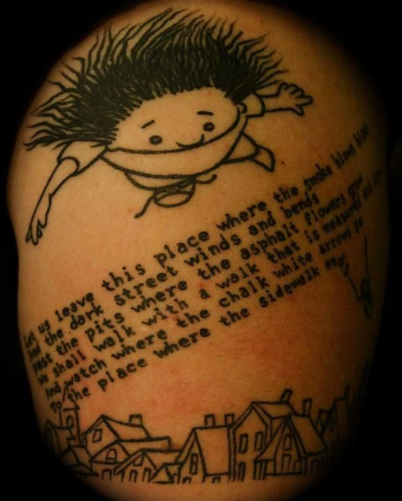 My Arm Is Dedicated To My Childhood. Shel Silverstein Was