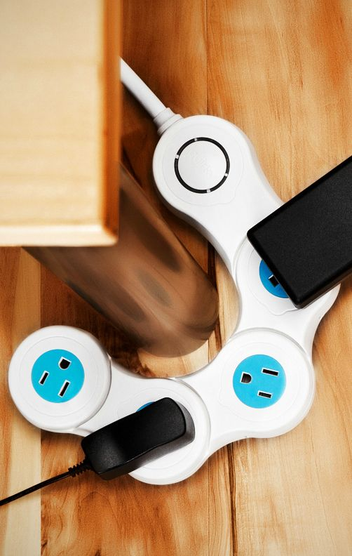Pivot Power Junior Flexible 4 Outlet Surge Protector by Quirky available from #TheStore http://thestore.com/pivot-power-junior-flexible-4-outlet-surge-protector-by-quirky/TSZPKQZPKR