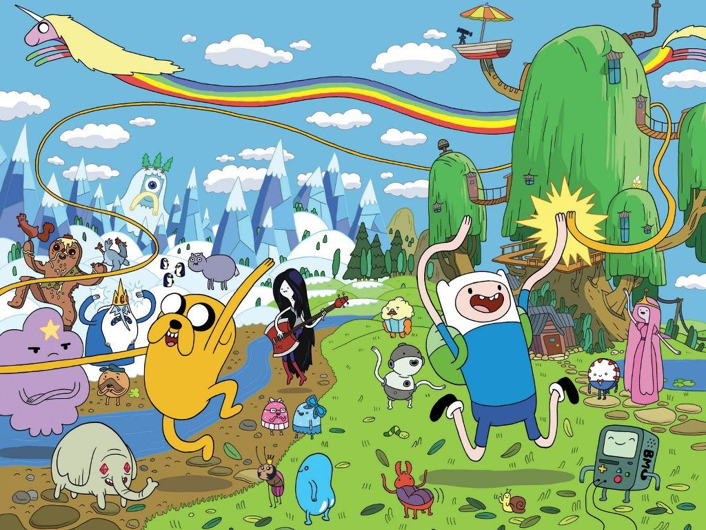 Image result for adventure time world