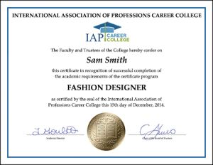 Fashion Designer Certificate Course Online Dance Studio Fashion Designing Course Online Courses With Certificates