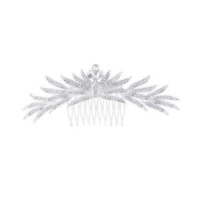 Grzebien Slubny Srebrny Ozdoba Do Wlosow Slub 6853079594 Oficjalne Archiwum Allegro Bridal Accessories Bridal Image