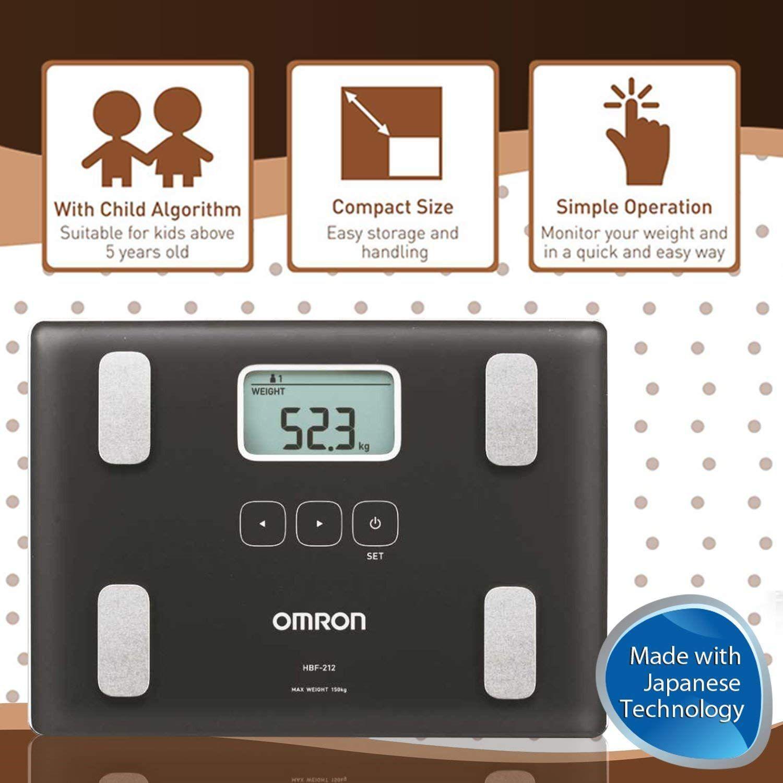 Omron HBF-212 Body Composition Monitor: