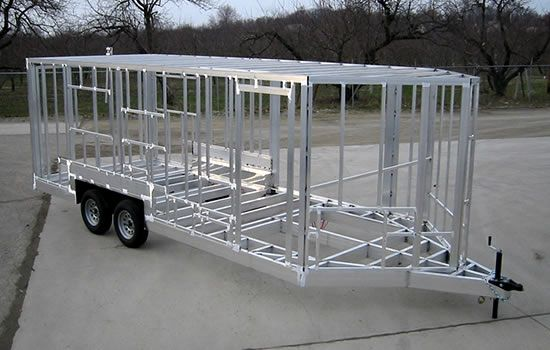 Aluminum Trailer | Work | Pinterest | Aluminum trailer, Tiny houses ...