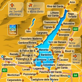 map of lake garda towns Best Holiday Trip Spent 2 Weeks In Riva Del Garda In Northern map of lake garda towns