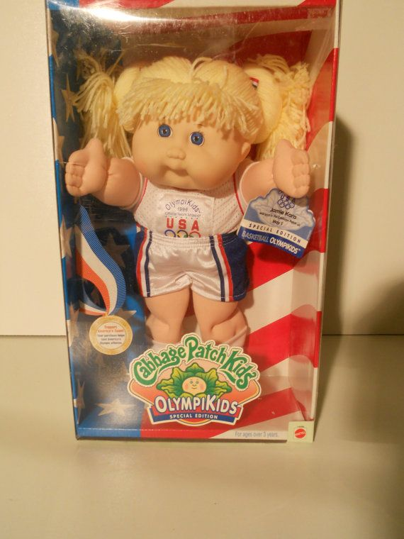 Olympics Cabbage Patch Doll Etsy Cabbage Patch Dolls Cabbage Patch Cabbage Patch Kids