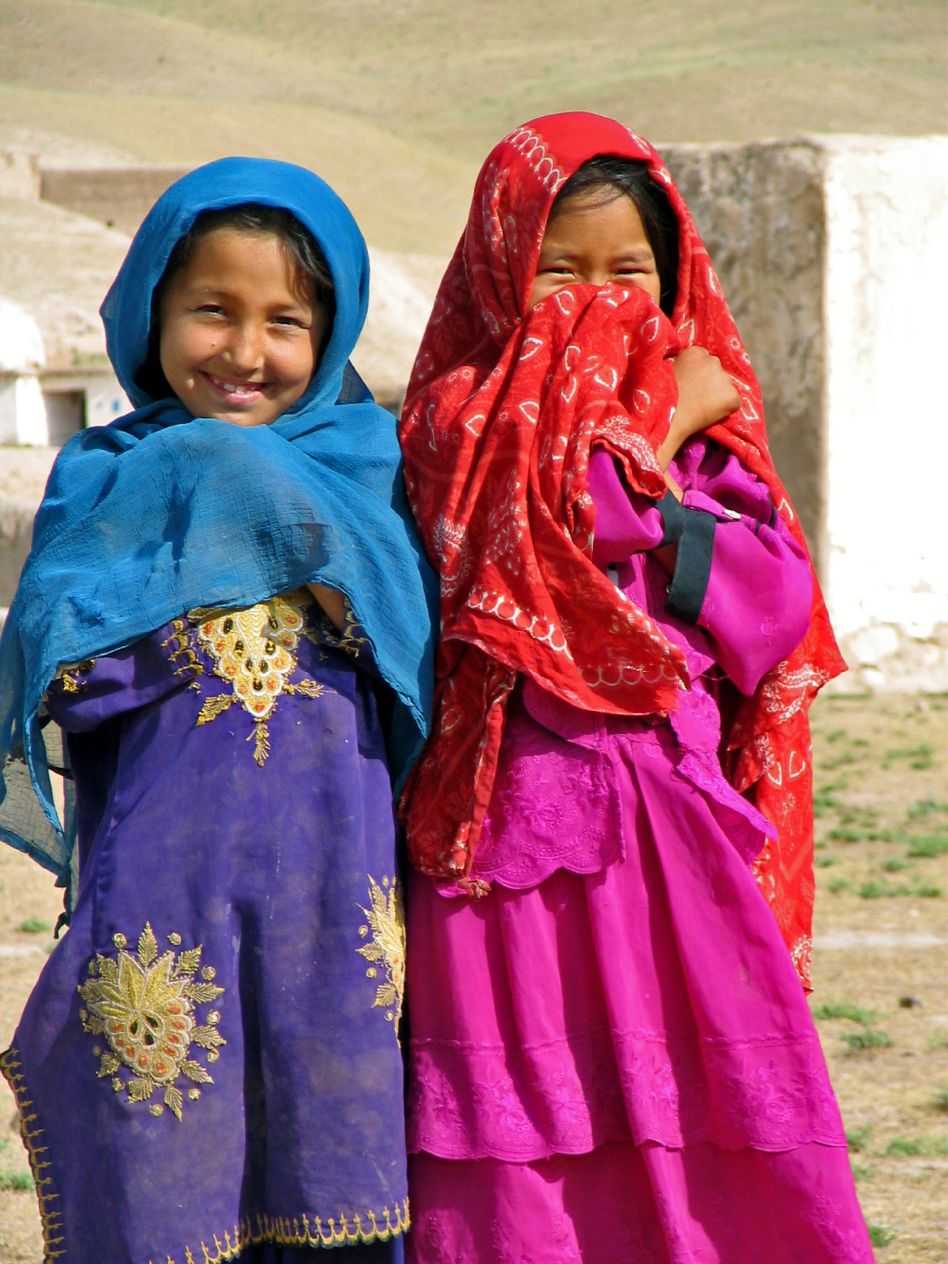 We love this pic of these giggling girls in #Afghanistan!