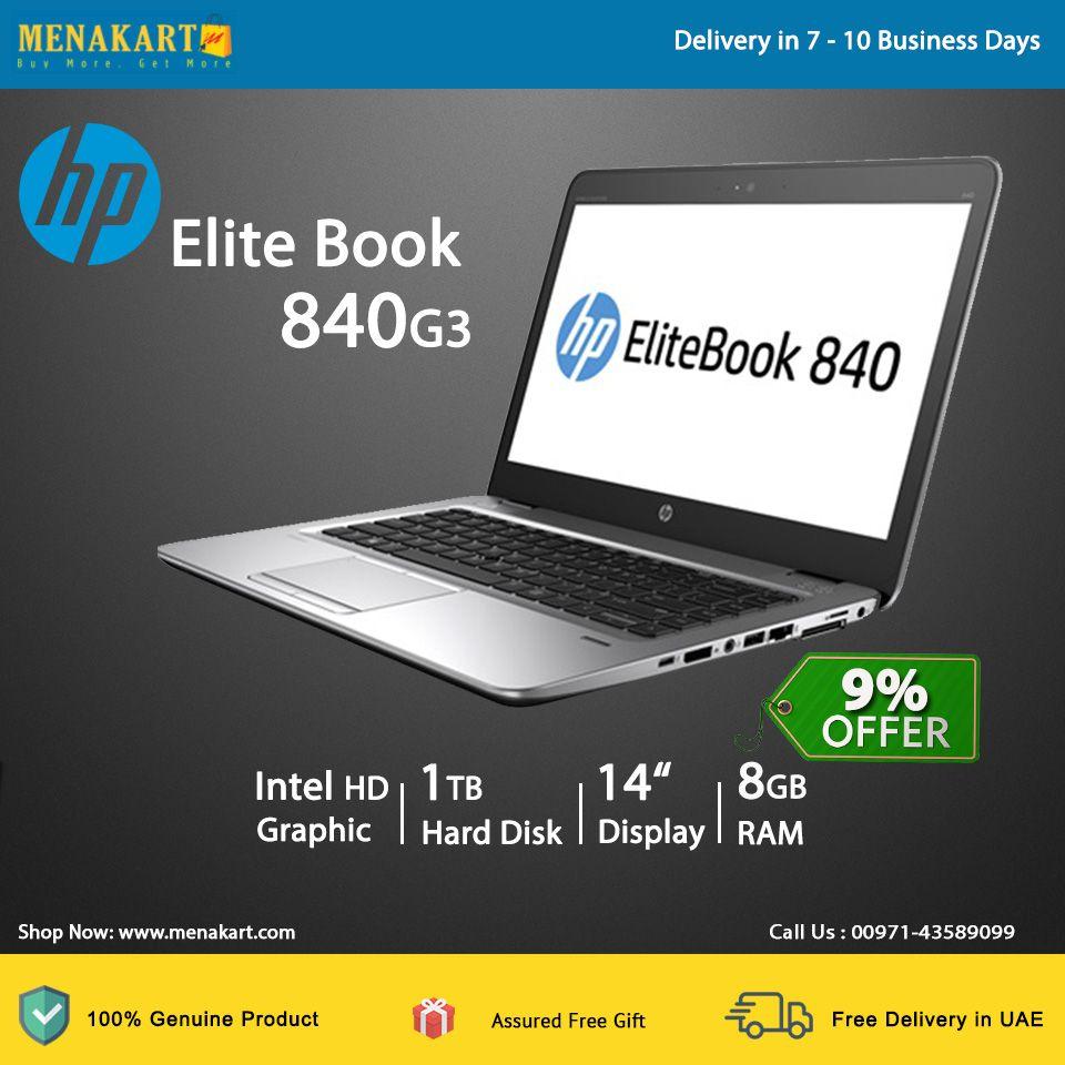 HP Elite Book 840G3 14 Inch FHD Screen Laptop Z2X06ES- Intel