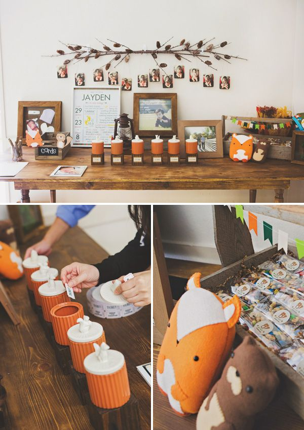 Rustic Woodland Camping First Birthday Party Jackson Bday