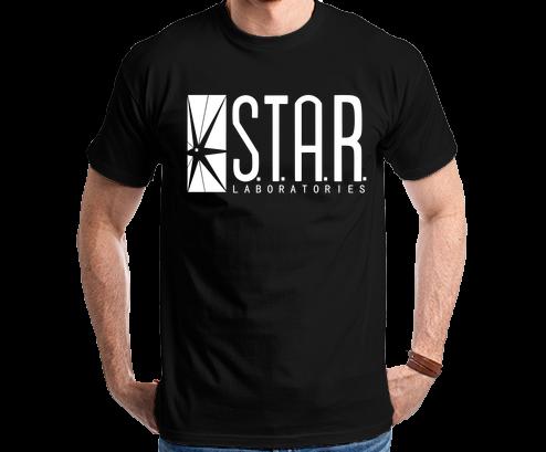 The Flash S.T.A.R. Laboratories Camiseta Camisa