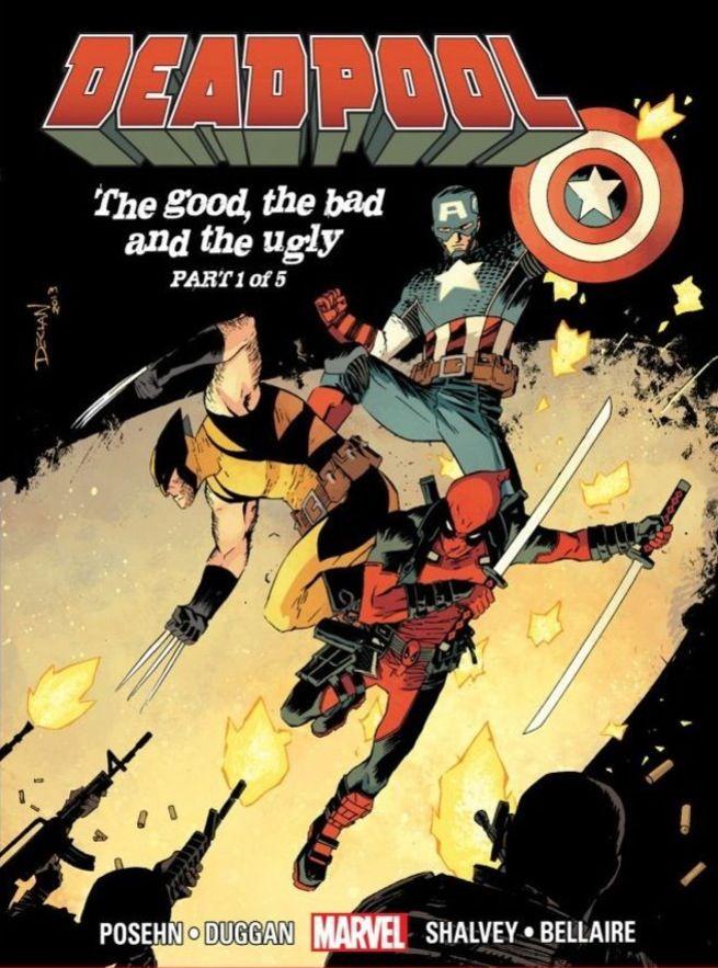 Deadpool, Wolverine and Captain America