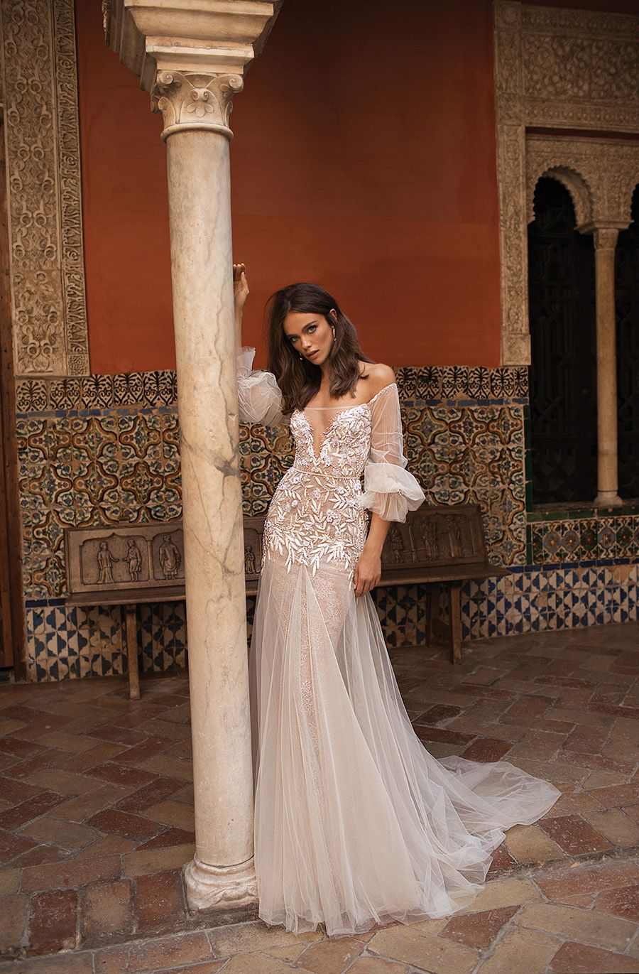 Wedding dresses asia  Asia Exclusive Berta FallWinter  Seville Bridal Collection