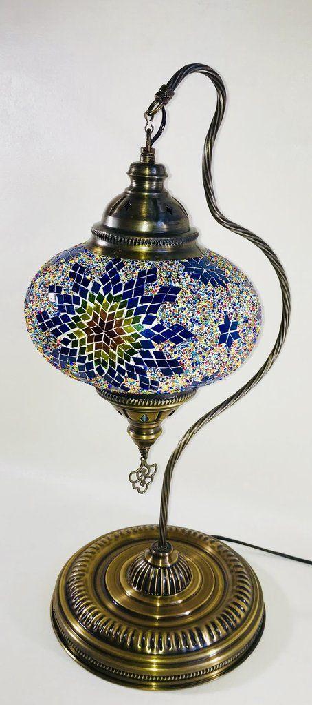 Lampe De Table En Mosaique Lampes De Table Table Mosaique Lamp