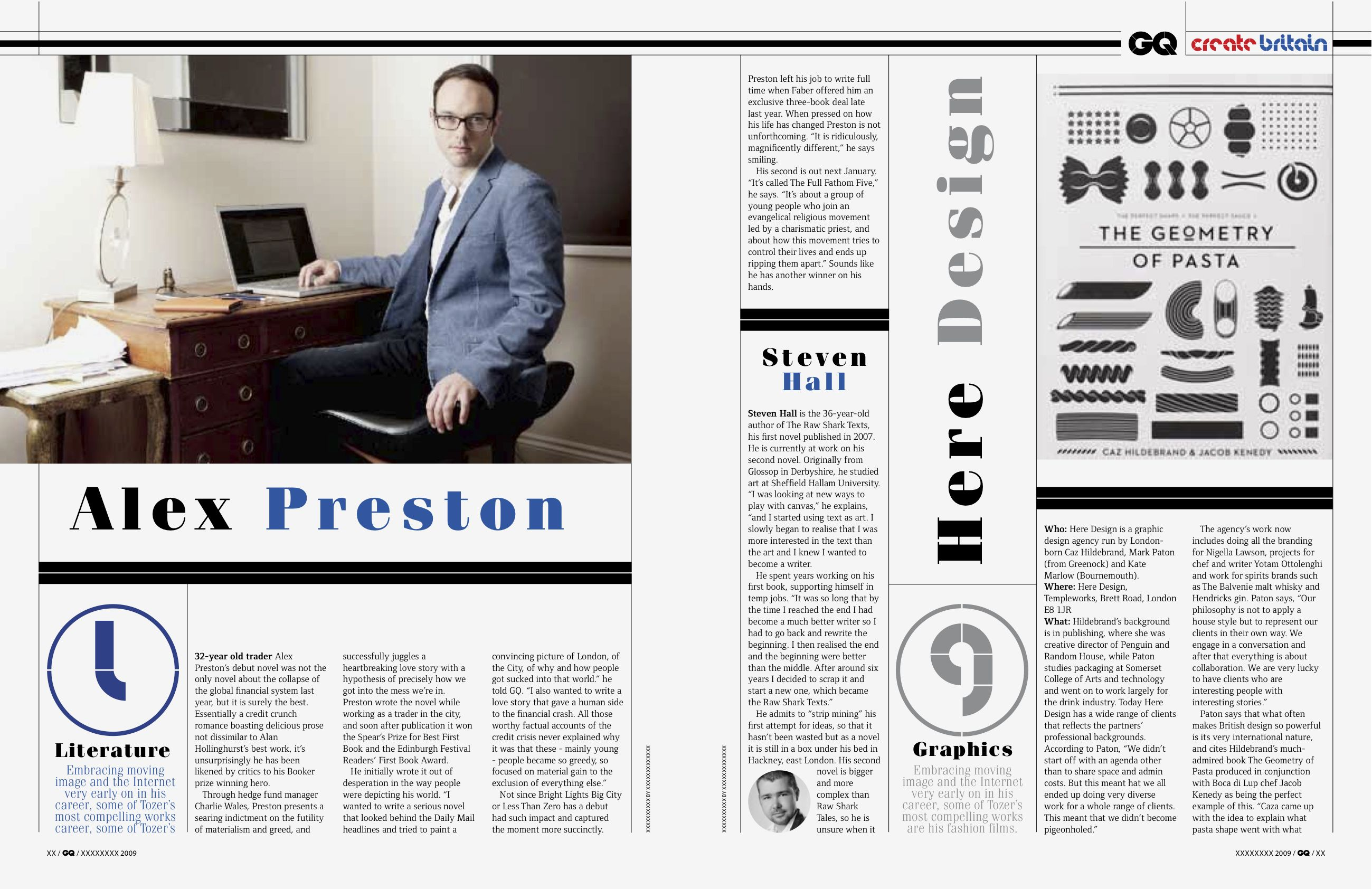 British Gq Magazine Layout Magazine Layout Design Design Print Layout