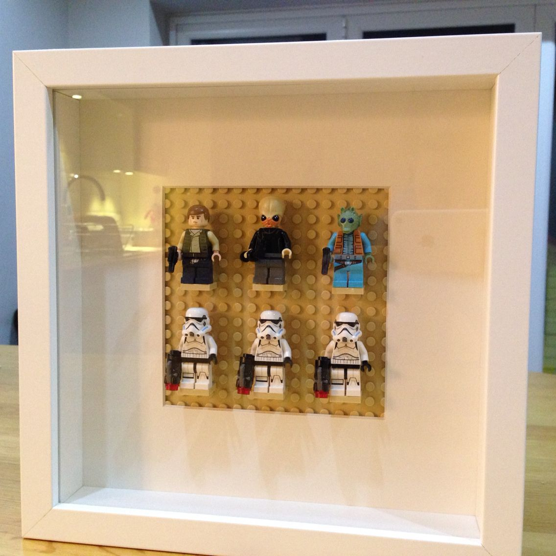 Lego star wars cantina art using ikea ribba picture frame crafts lego star wars cantina art using ikea ribba picture frame jeuxipadfo Images