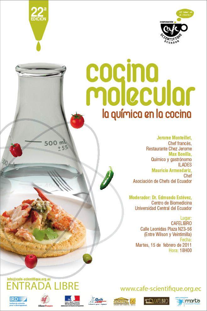 Cocina molecular revista de cocina pinterest for Libros de cocina molecular