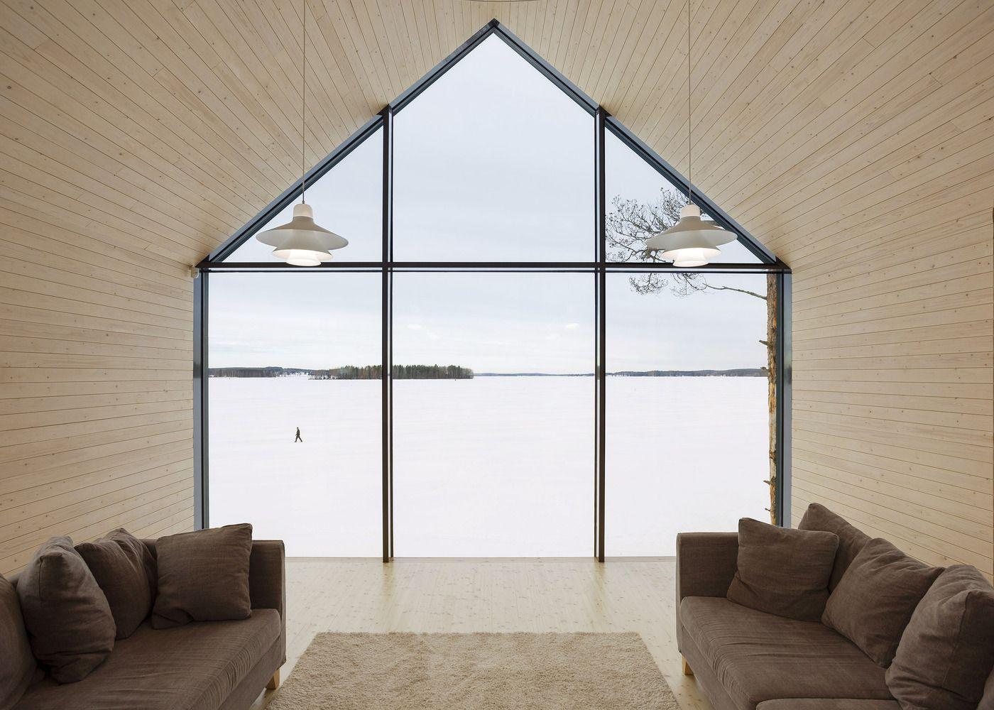 Modern window house design  gallery of house y  arkkitehtitoimisto teemu pirinen