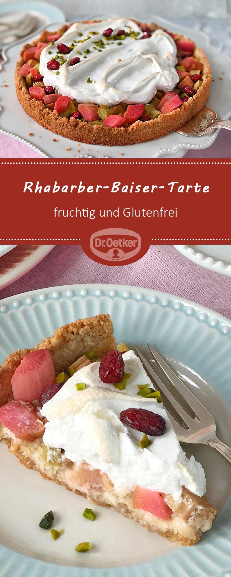 Glutenfreie Rhabarber Baiser Tarte Rezept In 2018 Traumhafte