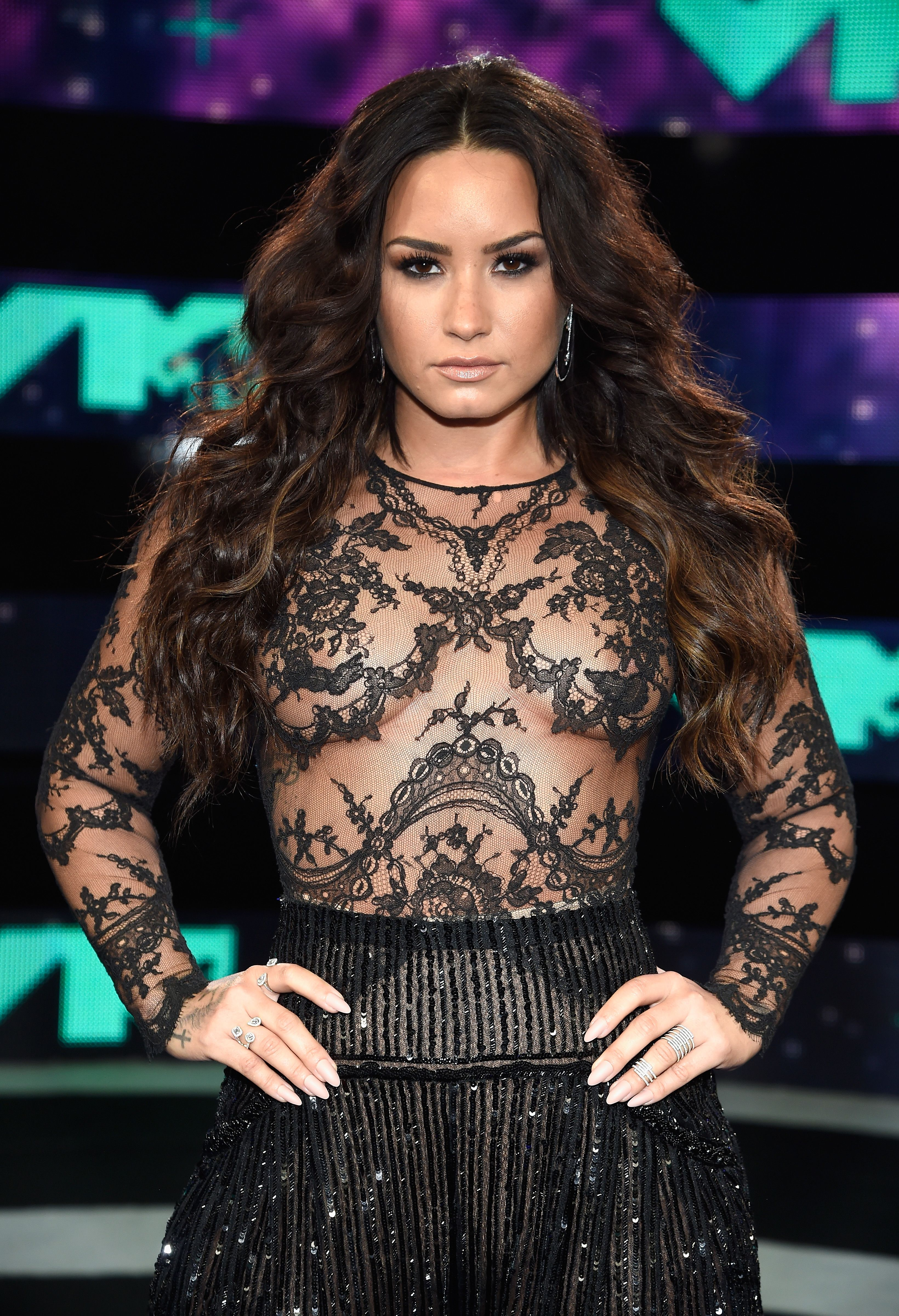 demi lovato in a see-through dress #viralsexypic | sexy but not porn