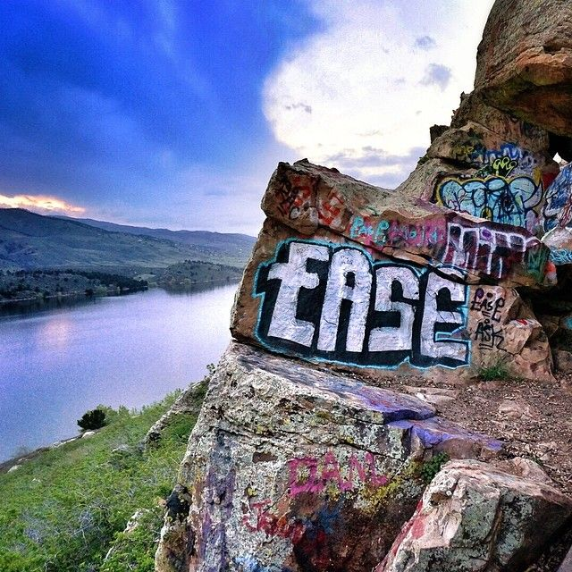 Fort Collins Colorado: The 420 Cave At Horsetooth Reservoir In Fort Collins