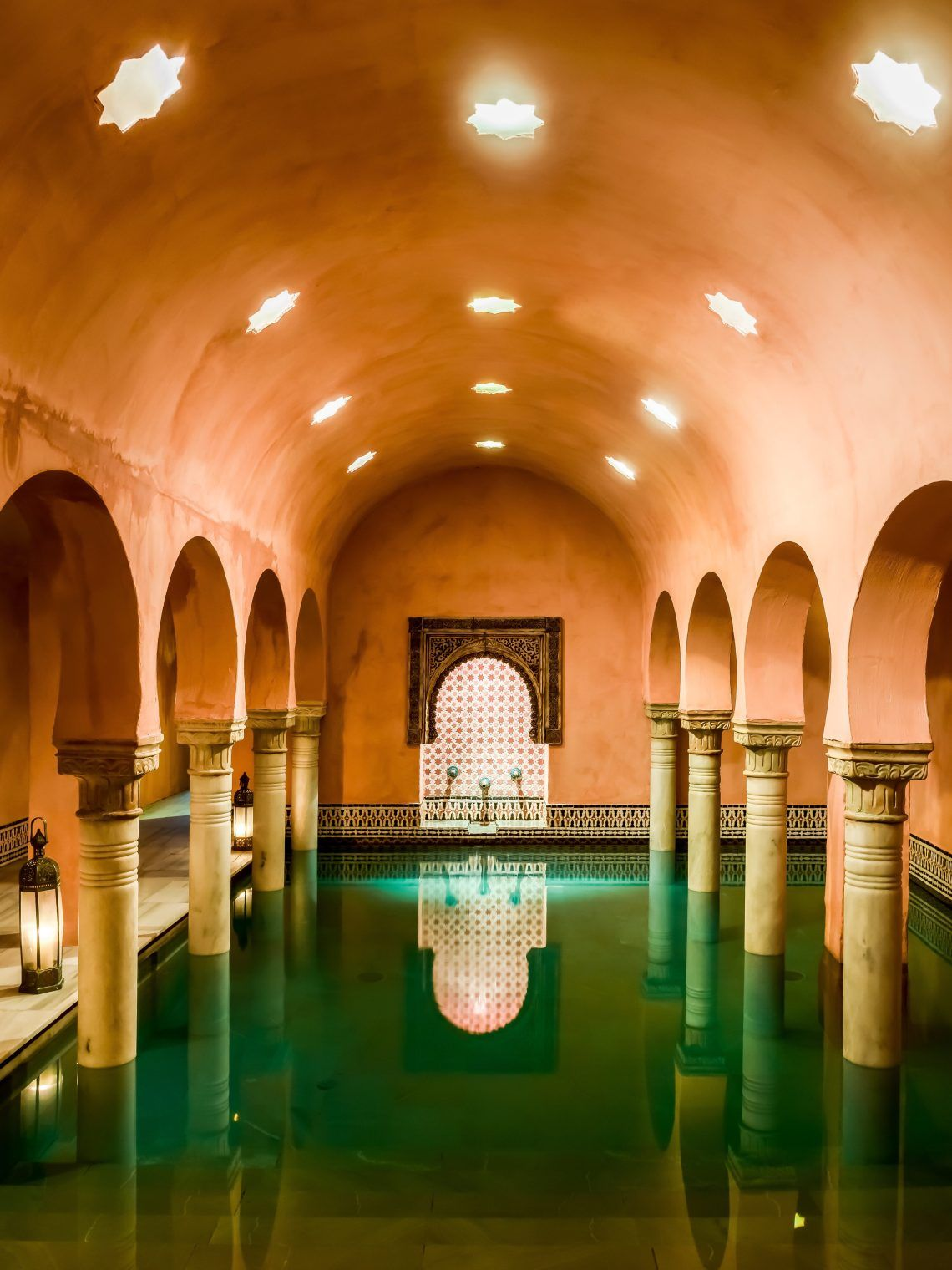 Unique Arab Baths Experience In Granada Hammam Al Andalus