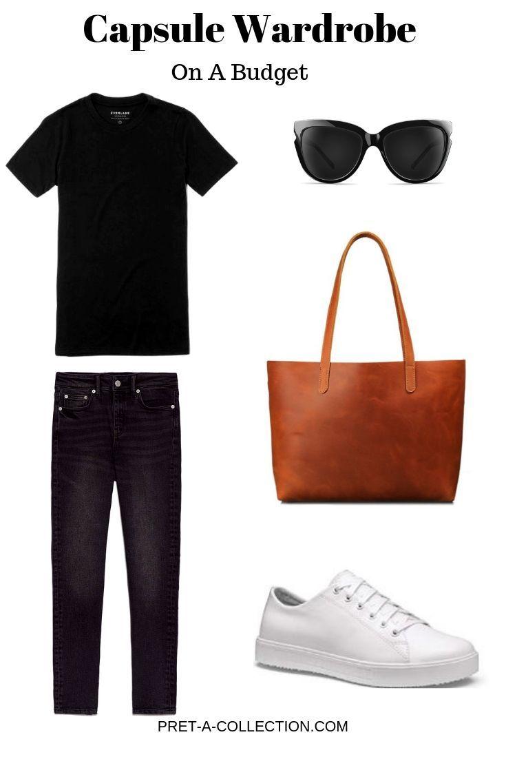 Create a Capsule Wardrobe On a Budget