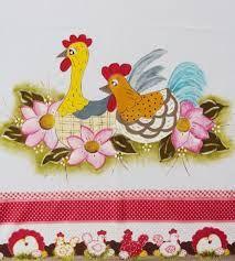 Resultado de imagem para pintura em pano de prato morangos