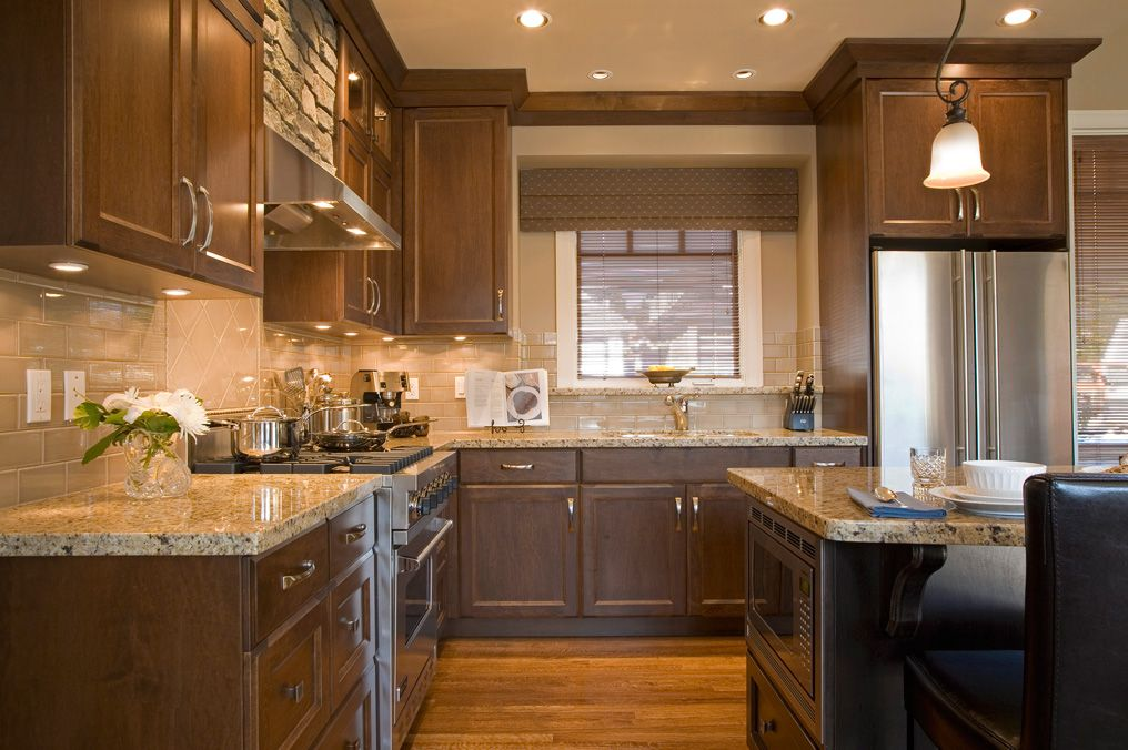 New Gold granite countertops kitchen stone