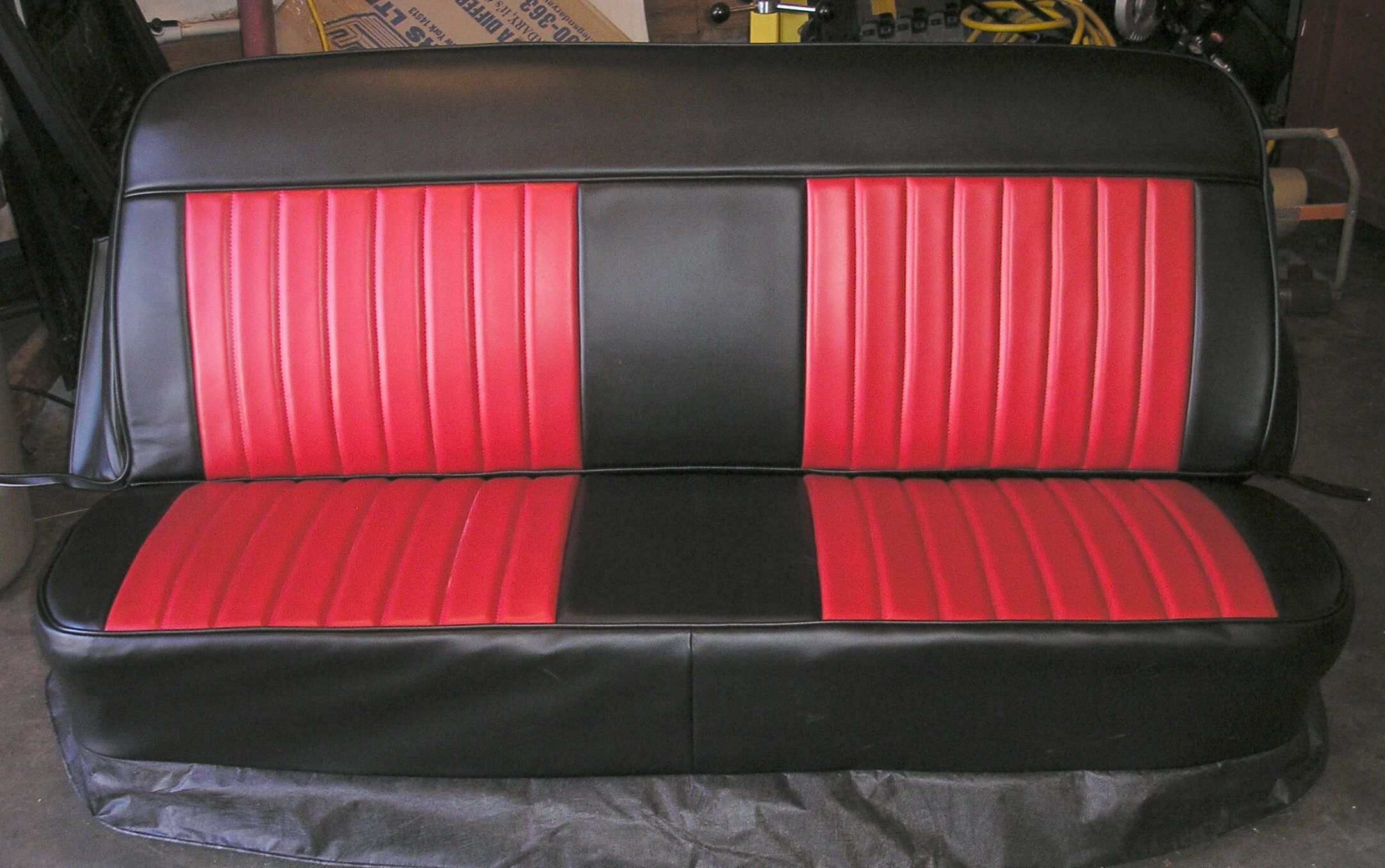 6772insert.jpg (2164×1357) Truck interior, Black bench
