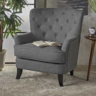 christopher knight club chair golden lift chairs dealers anikki tufted fabric by home
