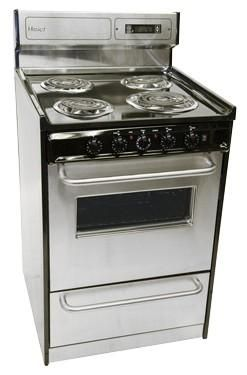 The Super Compact Haier 20 Inch Electric Range Her203qabs Is A Good Stainless Option And Costs Around 500