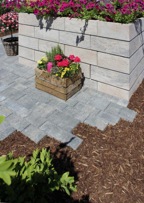 Tosa Mauersteine Terrassenplatten Pflastersteine Gartenmauer Stufen Garten Gartenmauer Gartenarbeit